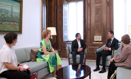 Syria Daily: Assad Appeals for European Support
