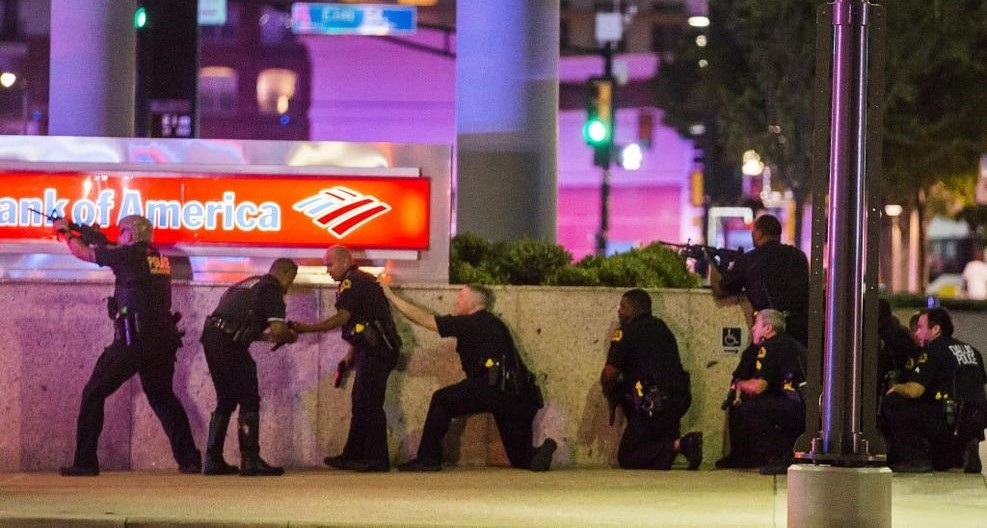 BBC Radio: The Threat of the Dallas Shootings