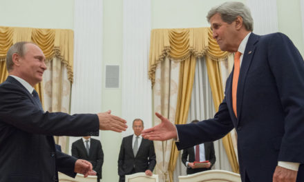Syria Daily: Kerry Discusses Cooperation with Putin