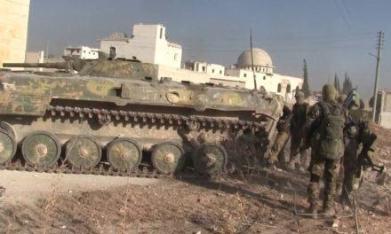 Syria Developing: Rebel Offensive Near Aleppo