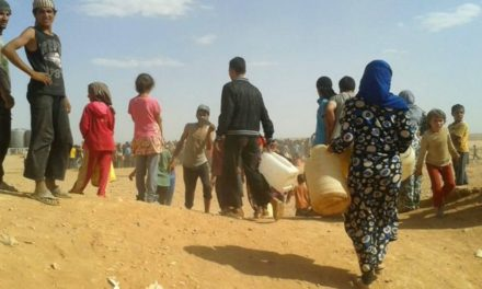 Syria Feature: Refugees Near Jordan's Border Struggle to Survive — and Now There's No Water