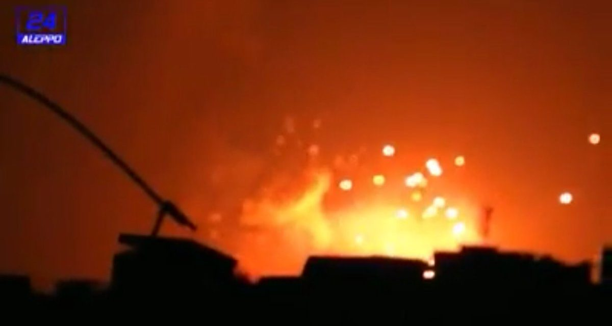 Syria Daily: Large Explosions in Assad's Defense Factories Near Aleppo