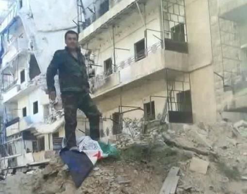 SYRIA SOLDIER BANI ZEID 28-07-16