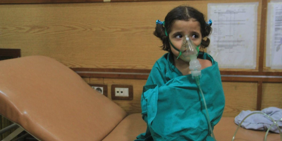 Syria Feature: How Chlorine Became A Weapon