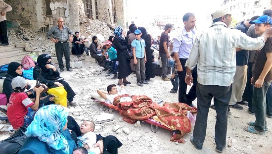 """Syria Opinion: UN is """"Assad's Silent Partner in Starvation"""""""