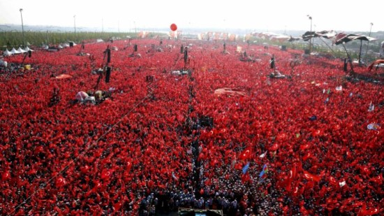 DEMOCRACY AND MARTYRS RALLY