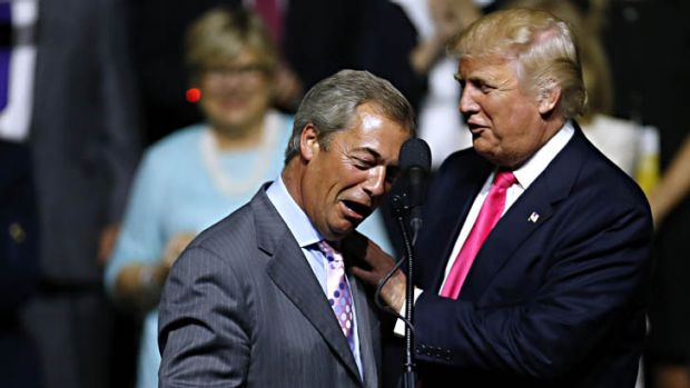 EA on BBC and talkRADIO: Trump's Takeover of UK Politics