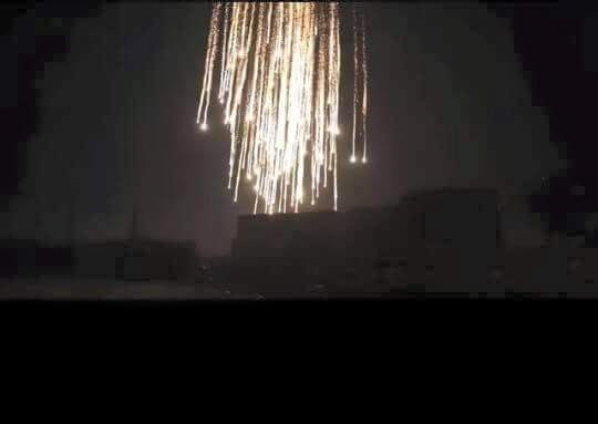 HOMS INCENDIARY ATTACK 08-16