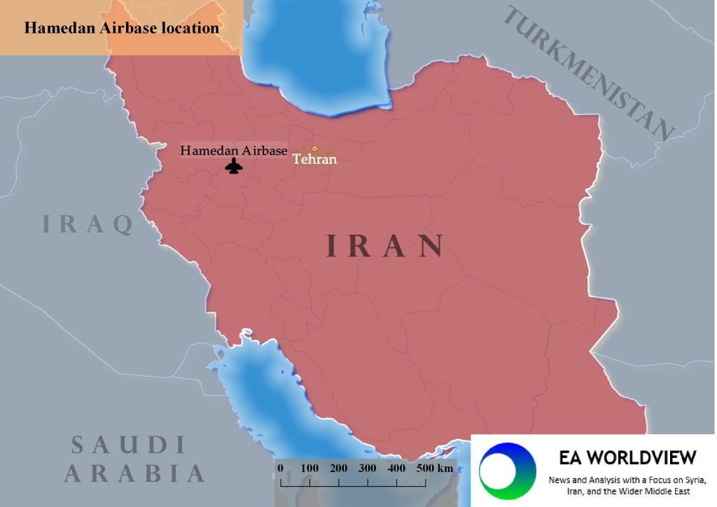 IRAN HAMEDAN AIRBASE