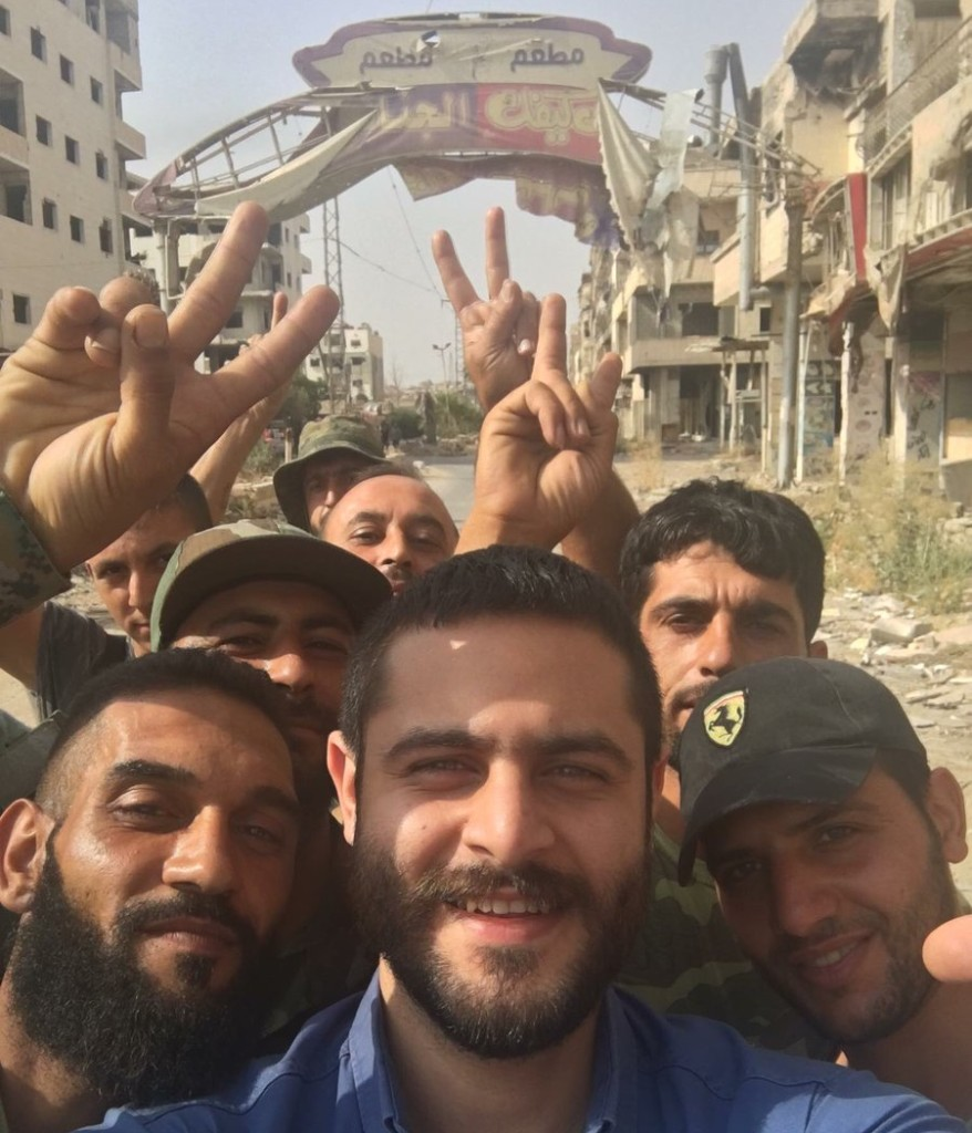 SYRIA TROOPS DARAYYA 08-16