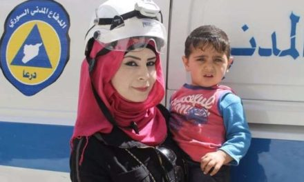 "Syria Feature: A Woman in the White Helmets — ""I Want to Save Lives"""