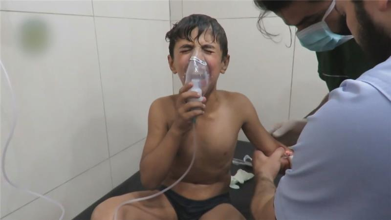 Syria Feature: 120 Injured in Regime Chlorine Attack on Aleppo