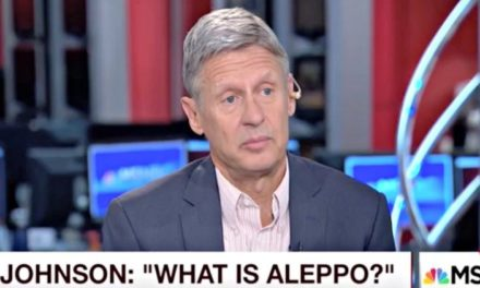 "Syria Video: When a US Presidential Candidate Asks, ""What is Aleppo?"""