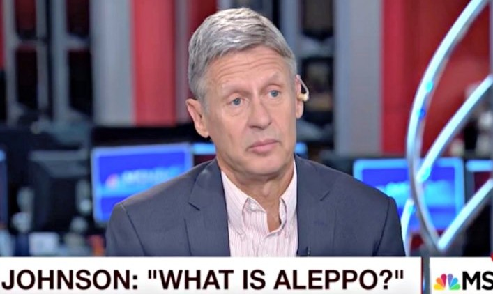 """Syria Video: When a US Presidential Candidate Asks, """"What is Aleppo?"""""""