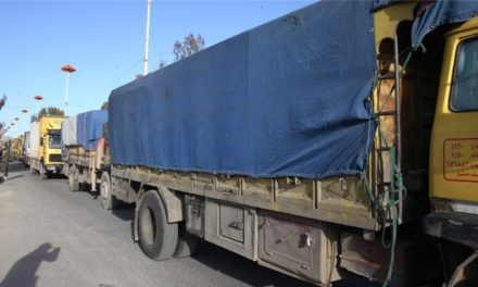 Syria Daily: Aid to Aleppo Held Up on Turkish Border