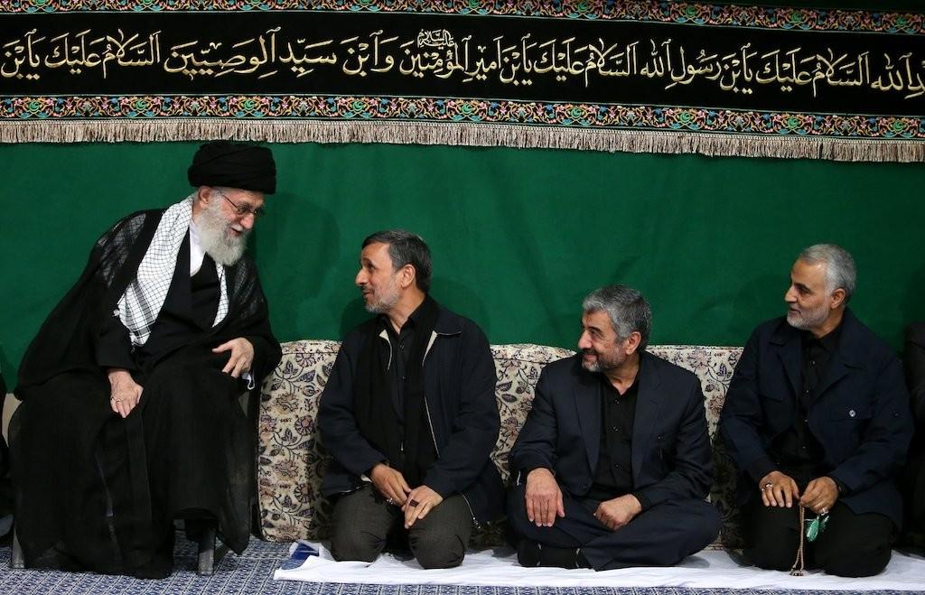 khamenei-ahmadinejad-jafari-soleimani