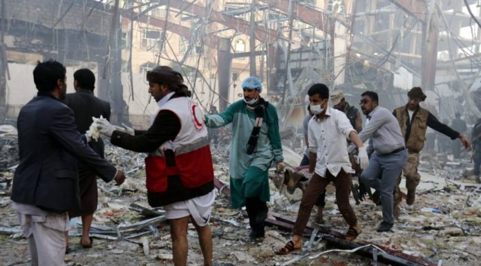 Yemen Feature: 140+ Killed by Saudi Bombing of Funeral