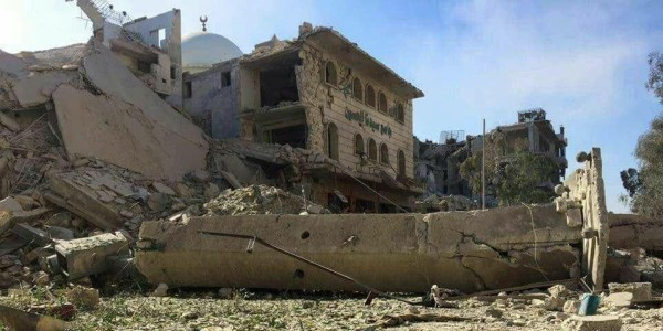Syria Daily: Regime Bolsters Aleppo Siege & Bombing with Disinformation