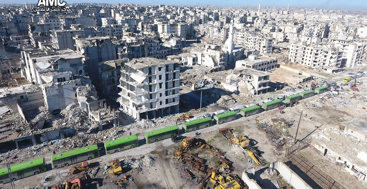 Syria Daily: Aleppo Evacuation Begins