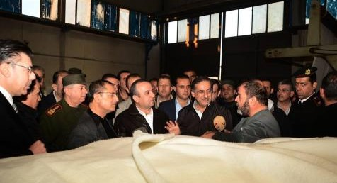 Syria Feature: Touring Aleppo With Assad's Industrialists