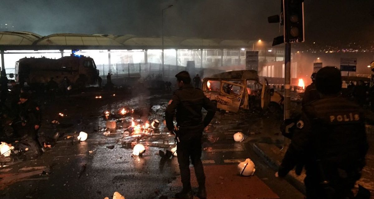 Turkey Feature: 38 Killed in Double Bombing in Istanbul