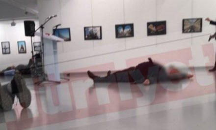 Developing: Russian Ambassador to Turkey Assassinated in Ankara