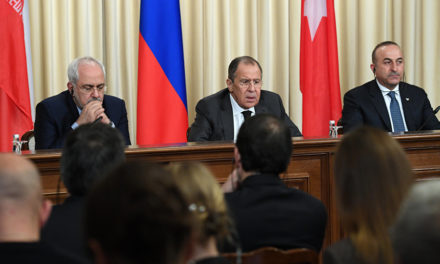 Syria Daily: A Russian-Iranian-Turkish Resolution of the Conflict?