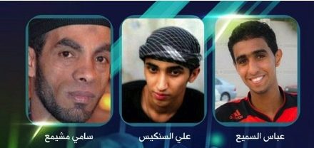 Bahrain Feature: Regime Executes 3 Detainees