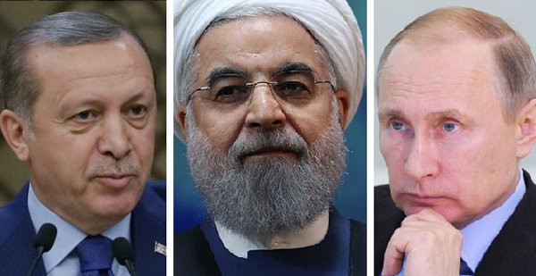 """Syria and Beyond: The Russia-Turkey-Iran """"Natural Alliance"""""""
