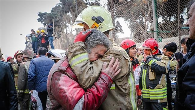 Iran Daily: Dozens Killed in Fire & Collapse of Iconic Tehran Building