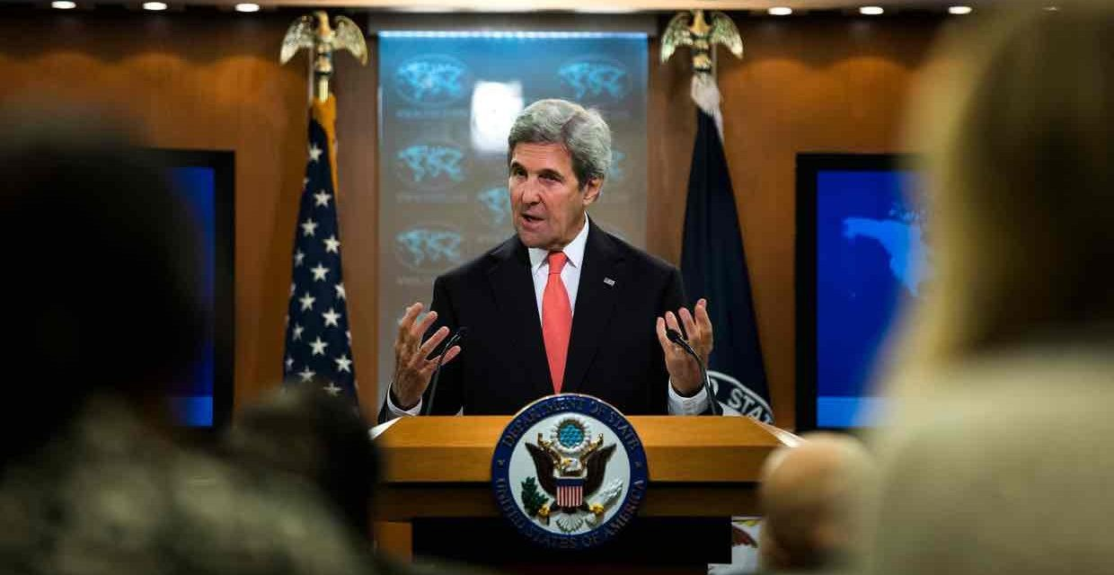 Syria Feature: Kerry — It's All Britain's Fault That We Didn't Intervene