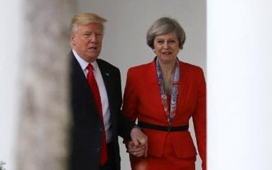 "US & Britain Analysis: May Meets Trump — A ""Special Relationship"" Pose to Hide Problems"