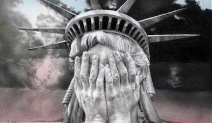 "US Opinion: ""Statue of Liberty is Weeping Because of Actions of Donald Trump"""
