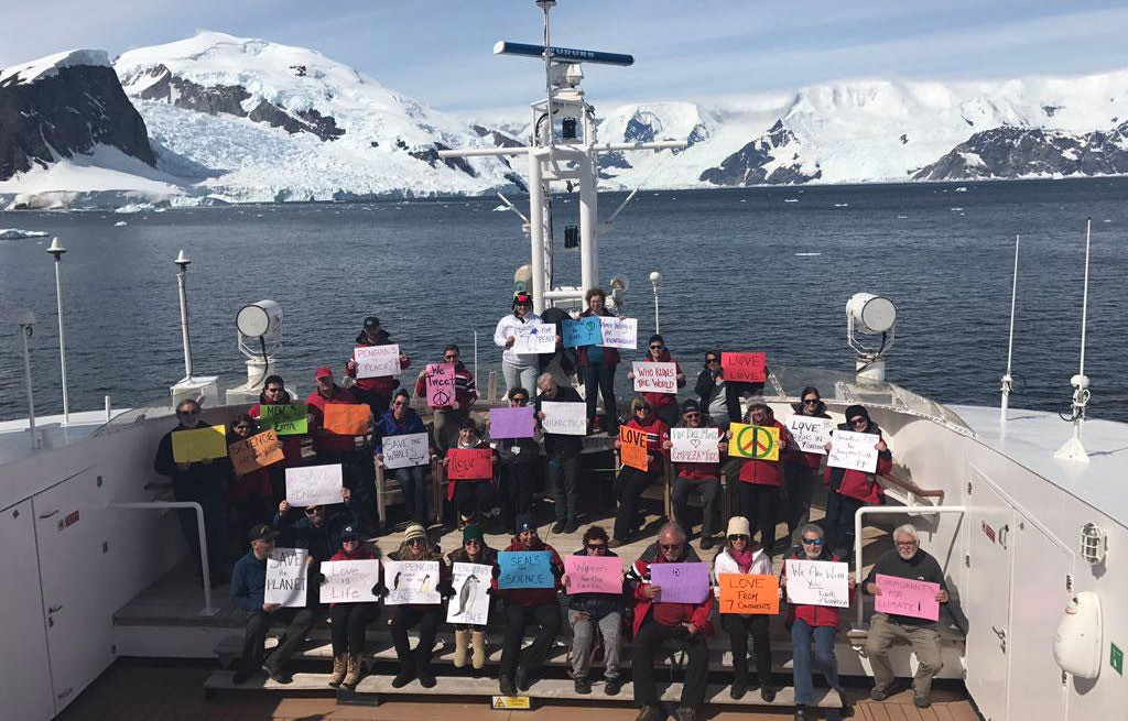 WOMEN'S MARCH ANTARCTICA
