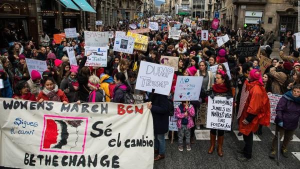 WOMEN'S MARCH BARCELONA