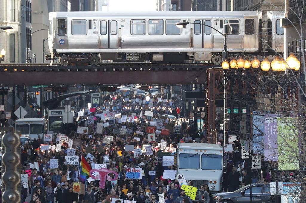 Women's March Held In Chicago