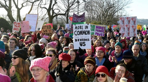 WOMEN'S MARCH EDINBURGH 2