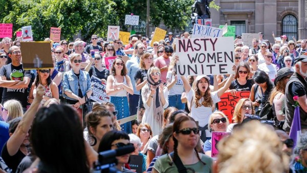 WOMEN'S MARCH MELBOURNE