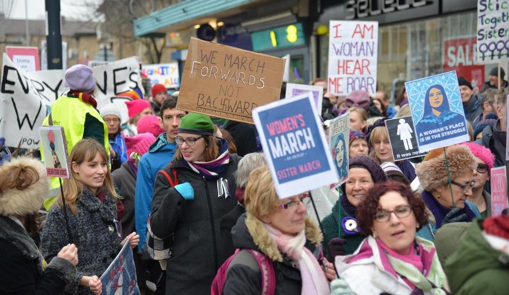 WOMEN'S MARCH SHIPLEY