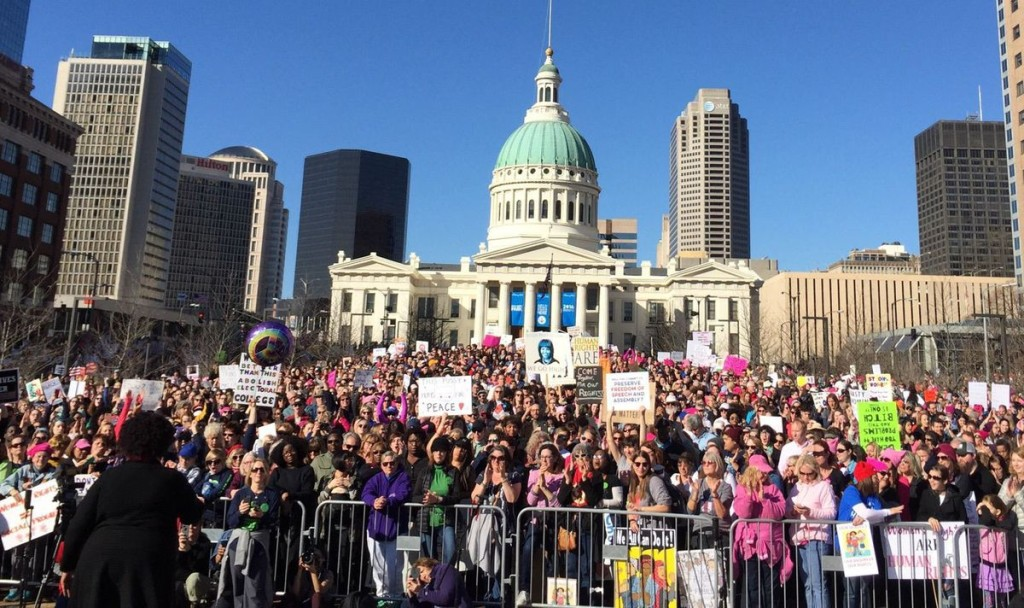 WOMEN'S MARCH ST LOUIS