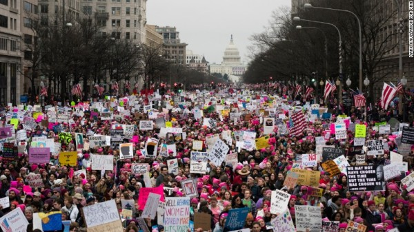 US & Beyond Pictures: The Women's Marches