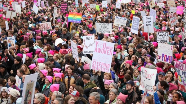 WOMEN'S MARCH WASHINGTON 4
