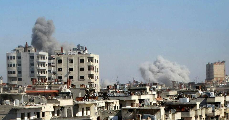 Syria Daily: Pro-Assad Bombing Across Country