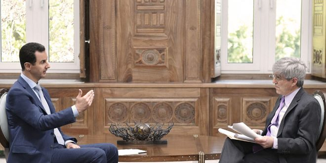 Syria Daily: Assad Welcomes US-Russia Support, Denies Human Rights Violations