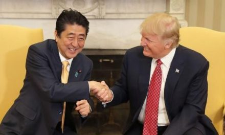 TrumpWatch, Day 23: A Japanese Visitor