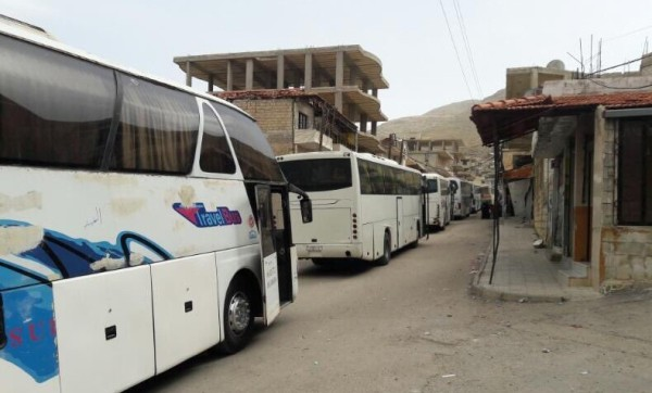 """Removals Begin in Syria's """"4 Towns"""" Agreement"""