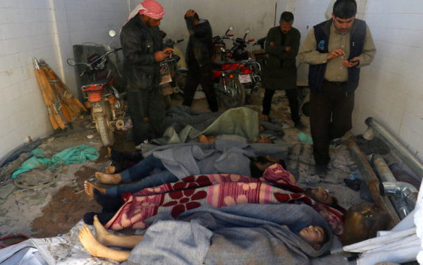 Syria Daily: Russia Pushes Disinfo Over Chemical Attacks on Idlib