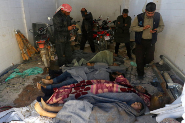SYRIA CHEMICAL ATTACK 14 04-04-17