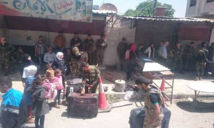 Syria Daily: Forced Removal Deal for Damascus Suburb Barzeh