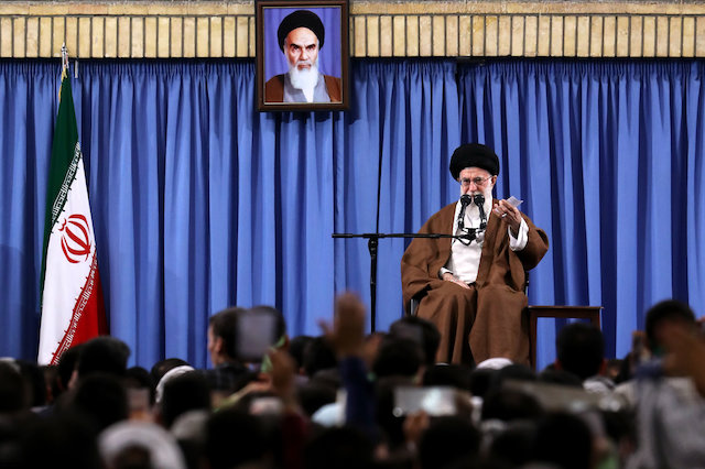 "Iran Daily: Supreme Leader Warns ""Fraud"" on Eve of Presidential Vote"